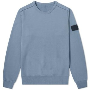 19SS 62751 CREWNECK SWEAT T0PST0NE manches longues T-shirt simple solide Sweat mode Pull Sportwear Streetwear