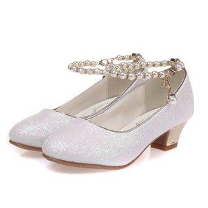 ULKNN 2020 Filles Princesse Sandales Chaussures enfants robe pour les filles talon haut Chaussures enfants Sandales d'été enfants Fête Sanda T200703