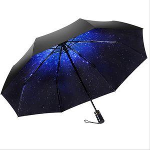 umbrellas for rain,Umbrellas automatic,30% off full automatic sun umbrella, vinyl, rain and rain, dual-use UV umbrella