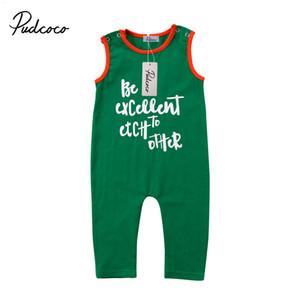 Pudcoco Mode Neugeborene Kleinkind-Baby-Kleidung Cotton Brief Pullunder Body 0-24months Pudcoco