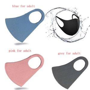 Máscara mascherin anti del polvo de la cara de la boca de la cubierta PM2.5 Anti-polvo Boca máscara máscaras del respirador a prueba de polvo Anti-bacteriana reutilizable lavable de la esponja de la cara