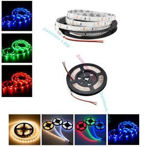 SMD 5050 LED şerit 12 V LED Işıkları Su Geçirmez IP65 DIY Noel Işıkları Ev Dekor için LED Halat Işık Mutfak Bar Parti Süslemeleri
