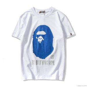 19ss Япония мужские дизайнеры футболка для купания аапэ обезьяна камуфляж хлопок t-рубашка шеи экипажа глава Апэ футболки топы мужская базовые тройник