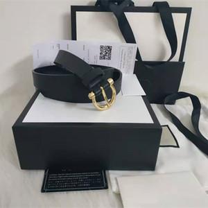 Hommes / femmes ceinture des femmes de haute qualité véritable couleur noir et blanc en cuir Designer Ceinture en cuir de vache pour hommes Ceinture de luxe Livraison gratuite