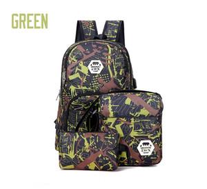 2022 quente ao ar livre sacos de viagem camuflagem mochila computador bag cadeia Oxford Brake saco estudante do ensino médio muitos Mix