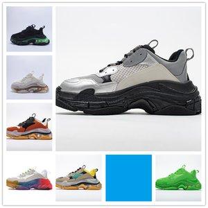 2020 Crystal Bottom Casual Shoes Triple S Track 2.0 Designer Old Dad Sneaker Combination Nitrogen Outsole Men Women Tripler Sneakers 36-45