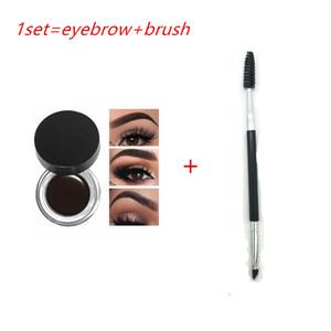 EPACK 2019 Nova Sobrancelha mais Escova Pomade EyeBrow Enhancers Maquiagem Sobrancelha 11 cores com pacote de varejo
