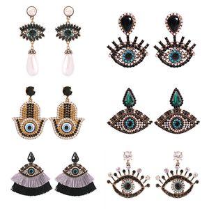 New Art personifiziertes Net Rot Lustiger Augen-Ohrringe modischer und vielseitige Trendsetter übertrieben und lustige Ohrringe
