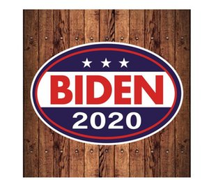 2020 American President Election Supplies Biden Car Magnet Sticker Removable Trump Car Bumper Stickers