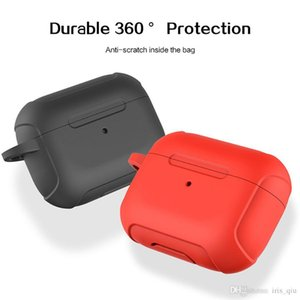 For cas airpods Wireless Charging Box Silicone Scratch Protector Holster Protective caja de airpods air pods pro case