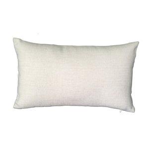 Case Cover Miscela 12x20 poliestere Lino Plain Cuscino decorativo vuoto della tela da Cuscino per personalizzata sublimazione