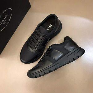 2020 zapatillas de deporte de los hombres de lujo de las señoras de las muchachas del cuero del abrigo de la brida Calzado casual clásico Balck blanco puro de los hombres de los zapatos tamaño 38-44 RD153