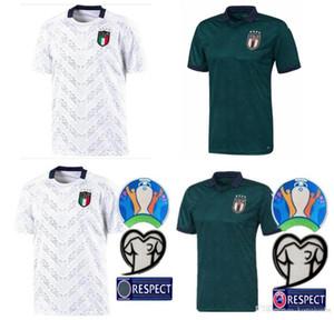 S-4XL 2019 2020 إيطاليا كأس الاتحاد الأوروبي لكرة القدم جيرسي 19 20 بعيدا الخضراء SHIRTS جورجينيو الشعراوي بونوتشي INSIGNE BERNARDESCHI FOOTBALL