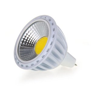 GU5,3   MR16 6W COB LED lamp spot light bulb light bulb 420LM 60° 3000K Warm White DC 12V