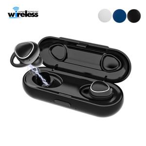 xi7 TWS sem fio Bluetooth 5.0 fones de ouvido estéreo de mini fones de ouvido earbuds fone de ouvido sem fio para smartphones vs Samsung Gear IconX