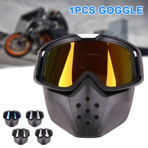 2019 Newly 1 Pcs Motorcycle Helmet Goggle Cover Vintage Windproof Protect Eye for Outdoor