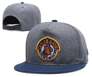casquettes de baseball de gros Cayler Sons Brooklyn chapeaux de broderie Snapback Casquettes chapeaux de papa réglables pour le chapeau de l'os des hommes os