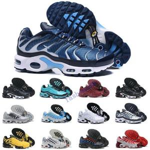 Nouveautés 2020 Originale AIR TN Plus Maxes Chaussures MESH Noir respirant Tn Requin Chaussures OG Jogging Chaussures de basket-ball Tns Zapatillaes