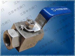 Imported high pressure threaded ball valve