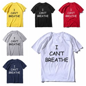 New I Cant Breathe T Shirt For Men Women 2020 Short Sleeves T-shirt Clothes I CAN'T BREATHE Printed Cotton Mens Top Tees S-XXXL DBC BH3834