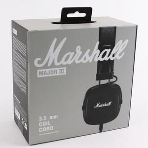 Marshall Major III 3.0 fone de Ouvido Bluetooth Fone De Ouvido de Graves Profundos Isolamento de Ruído Fone de Ouvido fone de Ouvido Major III 3.0 Sem Fio Bluetooth DHL Livre