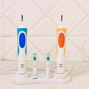 Titular 2pcs cepillo de dientes eléctrico para Electric Soporte para cepillos de dientes Dientes Caso cabeza del cepillo de baño cepillo de dientes están en rack