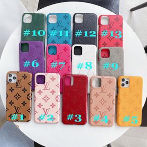 2020 Trendy Leder-Designer-Telefon-Kasten für iPhone 11 11Pro X XS MAX XR 8 7 6 Plus Handytasche für Samsung Galaxy S20 S10 S9 S8 Anmerkung 10 9
