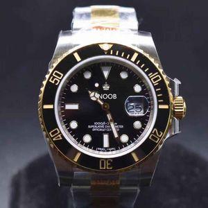 N 116613 Orologio di Lusso 40mm 2836-3135 Relojes de movimiento 904L Fina Steel Strap Designer relojes impermeable 200 metros