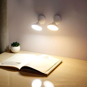 Nuovo umano della lampada di induzione del corpo USB ricaricabile Lampada da comodino Corridoio gabinetto lampada da parete LED intelligente di induzione