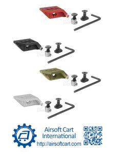 ACI TMRS Sol Başparmak İğneli El Kelime M-Lok CNC Sürümü için El Durdurma Handstop (Siyah / Kırmızı / Tan / Gümüş)