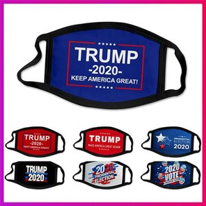 Hot sales US presidential election campaign Trump mask polyester printing mask outdoor dustproof mouth cover Designer Mask T9I00405