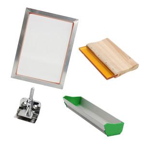 Aluminium Silk Screen Printing Kit für T-Shirt DIY, Press Screens Rahmen 15.5 Zoll X11.6 Zoll