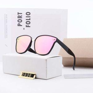 Модные женские дизайнерские солнцезащитные очки женские летние солнцезащитные очки UV400 D10 5936 5 цвет отличное качество с коробкой