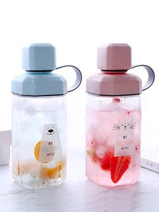 2020 new style Creative Personality Trend Net Red Water Cup Summer students fresh and lovely portable plastic fall-proof