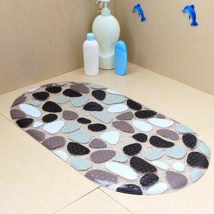 Cartoon Baby Children Anti-slip Durable Suction Cup PVC Bathtub Mats Carpet Shower Floor Mat Bath Soft Massage Pad for bathroomvbf