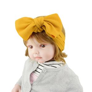Acessórios Europeu e American Girls Cabelo Cloth Headband nylon macia Turban Broadside Bow Headband