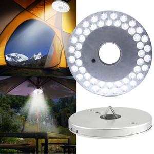 Portable Camping En Plein Air Lumière pôles Tente Lumière 48 LED Lanterne Plage Jardin Patio parapluie lumière Batterie Exploité Lampe De Poche