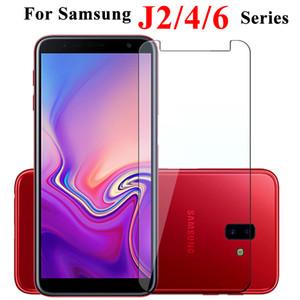 10 morceaux de 2,5D 9h trempé protection d'écran en verre pour Samsung Galaxy Pro J2 J6 core J4 J7 J8 ainsi que film de protection