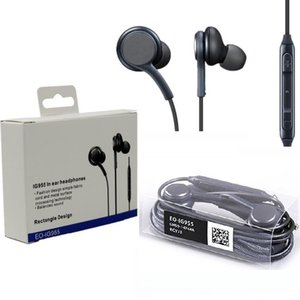 s8 Earphones Headphone In Ear Headset With Mic Volume Control earphones For Samsung galaxy S8 edge S8+ with retail package
