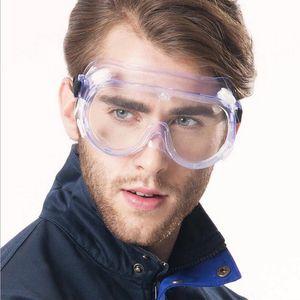 Proteção Óculos de Trabalho Anti Poeira Eye Anti-Fog Antisand Windproof Anti Poeira Saliva Protecção dos olhos Transparente Goggles