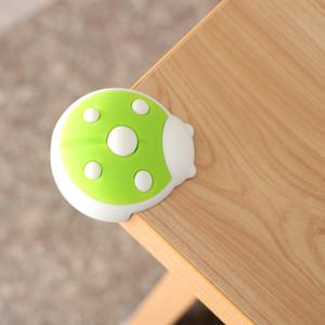 4 PCS Baby Cartoon Ladybug Protector Edge Safety Glass Table Desk Cushion Guard Bumper