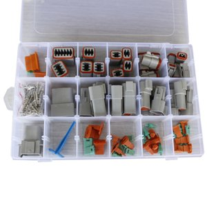 18 conjuntos de la Serie DT 14-20 conector con aguja removedor sellado Eléctrico automotor Conectores Conector Deutsch