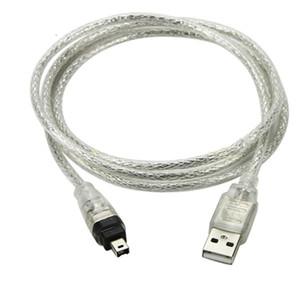 كمبيوتر مكتب الكمبيوتر كابلات موصلات USB 1.5M ذكر أن فايرواير 1394 4 دبوس محول ذكر الحبل التمديد لDV البسيطة