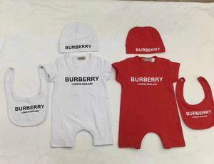 Baby Kinder Designer Kleidung Strampler Sommer Kurzarm Strampler Kleidung 100% Baumwolle Mädchen Kind Strampler 3-18 Monate