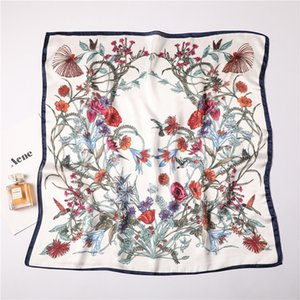New Fashion Designer Silk Scarf Hot Sale Women Luxury Four Seasons Shawl Scarf Brand Scarves