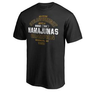 Marca outwear 2019 camisas UFC Combate Conor McGregor UFC Gorilla A série do artista do urso camisa preta 3D logos de marcas imprimir Esporte T-shirt
