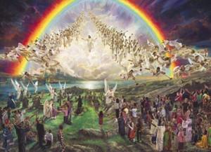Nathan Greene die selige Hoffnung Wiederkunft von Jesus Christus Hauptdekor HD-Druck-Ölgemälde auf Leinwand-Wand-Kunst-Leinwandbilder 200110