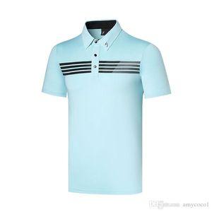 Hommes New TiT été manches courtes Golf T-shirt 4 couleurs Sports de plein air Vêtements de golf Loisirs chemise S-XXL dans le choix de golf Chemises Livraison gratuite