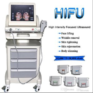 HIFU High Intensity Focused Ultrasound Hifu Face Lifting Maschine Falten entfernen mit 5 Patronen für Haut Rejuvention