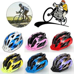Faire du vélo Nouveau Adulte Hommes Femmes Casque de vélo de montagne avec visière anti-choc de patinage Sport Casque